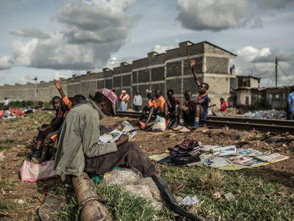 População pobre no Quênia, um dos países com maior desigualdade no mundo.