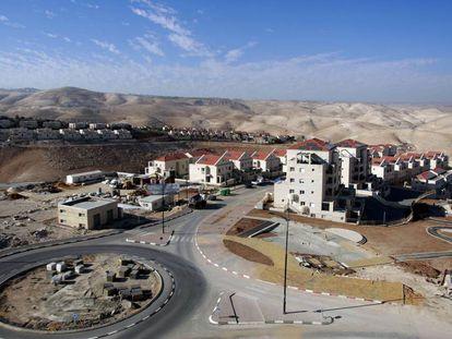 Assentamento de Maale Adumim, ao Leste de Jerusalém.