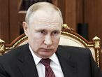 Russian President Vladimir Putin listens during a meeting in the Kremlin in Moscow, Russia, Wednesday, March 24, 2021. (Alexei Druzhinin, Sputnik, Kremlin Pool Photo via AP)