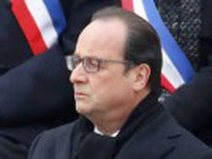Presidente francês prometeu acabar com o ISIS durante homenagem às vítimas dos atentados em Paris