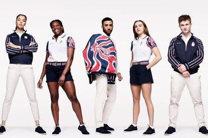 Uniforme olímpico do Reino Unido.