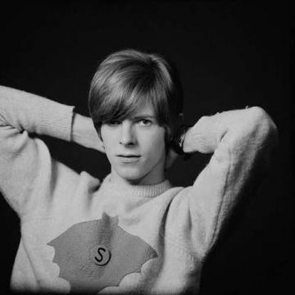 David Bowie, retratado pelo fotógrafo Gerald Fearnley.