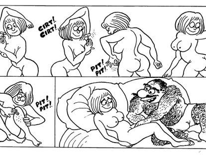 Quadrinhos sem testosterona