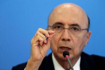 Ministro da Fazenda, Henrique Meirelles, em coletiva sobre PEC que limita aumento de gastos públicos