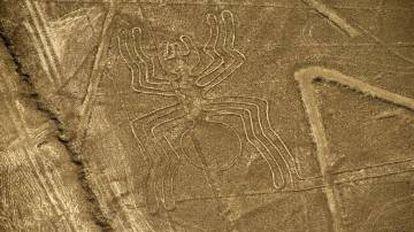 Algumas das famosas linhas de Nazca.