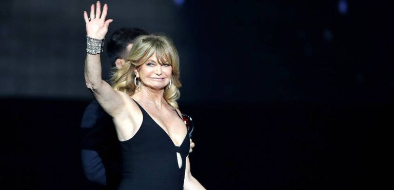 Goldie Hawn, no CinemaCon, em Las Vegas