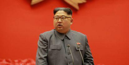 O líder norte-coreano, Kim Jong-un.