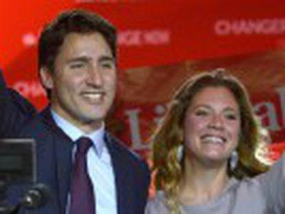 A vitória nas eleições gerais do quebequense põe fim a uma década de Governo conservador do primeiro-ministro Harper