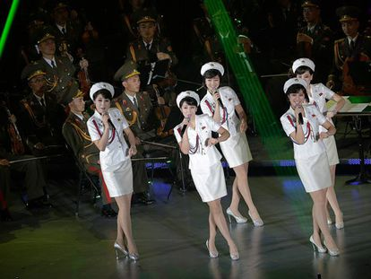 O grupo Moranbong atua em Pyongyang