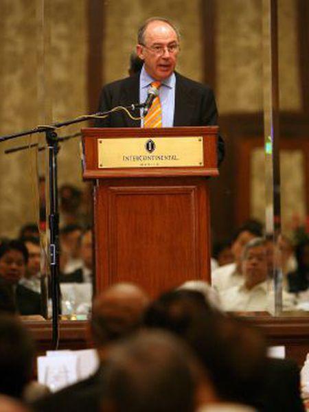 Rodrigo Rato, em uma reunião do FMI em 2007.