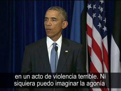 Barack Obama fala sobre a ameaça do Estado Islâmico.