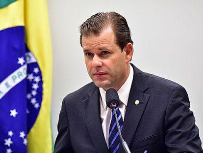 O novo líder da bancada do PMDB, Leonardo Quintão