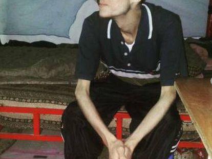 Omar el Shogre logo depois de ser solto
