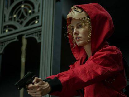 Esther Acebo na terceira parte de 'A casa de papel'.