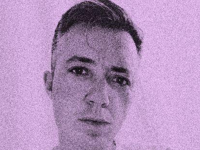 Paul B. Preciado, visto por Smith, artista multidisciplinar, em foto de 2019.