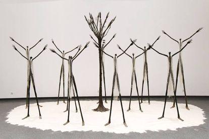 Uma das peças do Museu de Civilizações Negras, em Dacar (Senegal), inaugurado em 6 de dezembro.