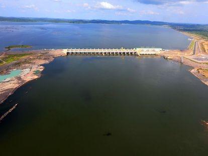 Usina de Belo Monte, na época de sua inauguração, em novembro de 2019.
