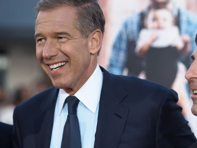 O apresentador Brian Williams, da NBC.