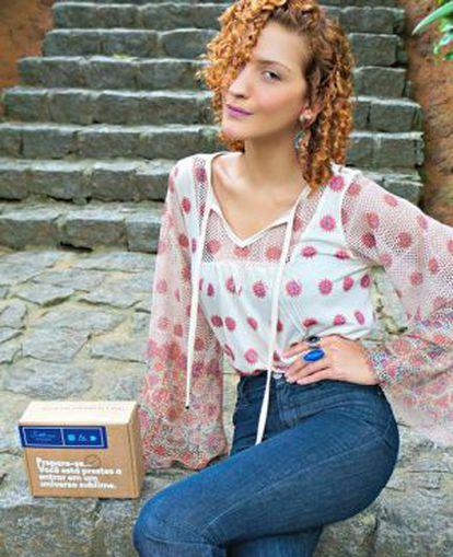 Karina Viega deixou um cargo público para se dedicar ao blog