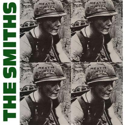 Capa de 'Meat is murder', do The Smiths, com o soldado Michael Wynn no Vietnã. Segundo ele, ninguém lhe disse que iria aparecer na capa de um disco.