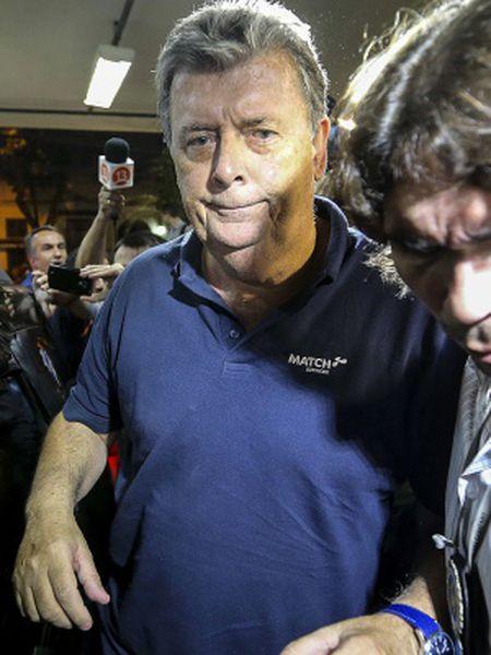 Whelan, ao detido na Operação Jules Rimet.