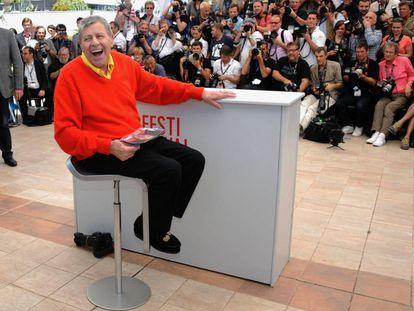 Jerry Lewis durante a apresentação em Cannes de 'Max Rose'.
