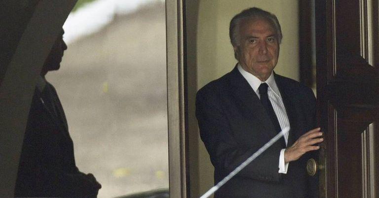 Vice-presidente, Michel Temer.