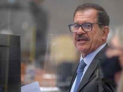 O presidente do STJ, Humberto Martins, durante abertura do ano judiciário.