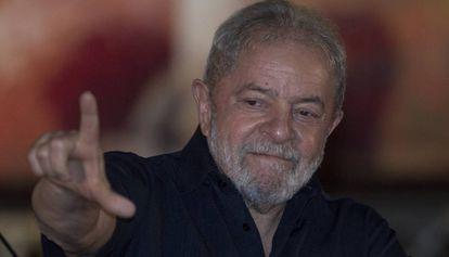 Lula na abertura do congresso de agricultores nesta segunda-feira.