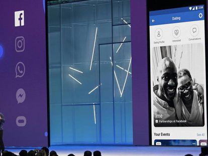Mark Zuckerberg, executivo-chefe do Facebook, durante a conferência F8, realizada nesta semana em San José
