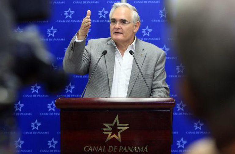 O administrador do Canal do Panamá, Jorge Quijano.