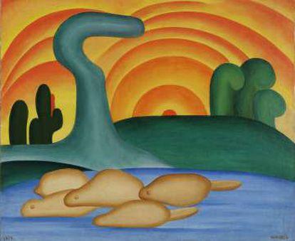 'Setting Sun' (1929).
