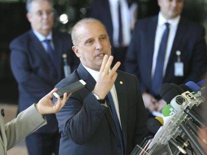 O futuro ministro da Casa Civil, Onyx Lorenzoni.