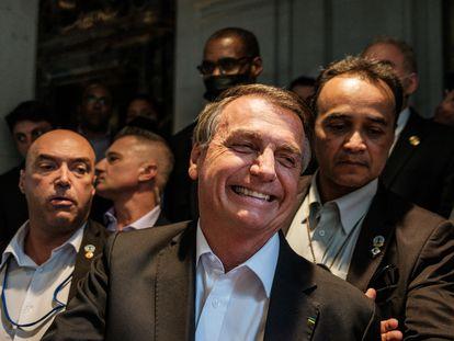 O presidente Jair Bolsonaro, em Nova York, no dia 21 de setembro.