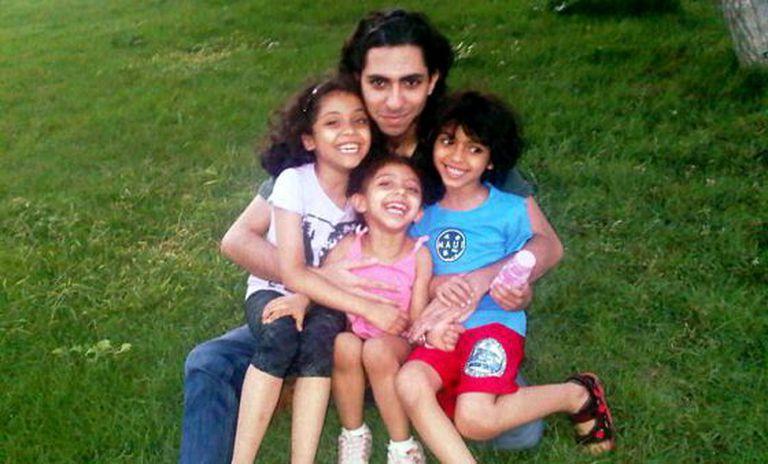 O blogueiro saudita Raif Badawi, preso desde 2012.