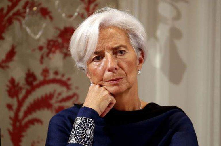 A diretora-gerente do FMI, Christine Lagarde .