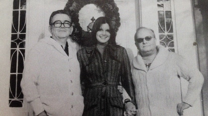 John O'Shea, Kate Harrington e Truman Capote.