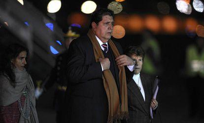 Alan García, em Buenos Aires em 2010.