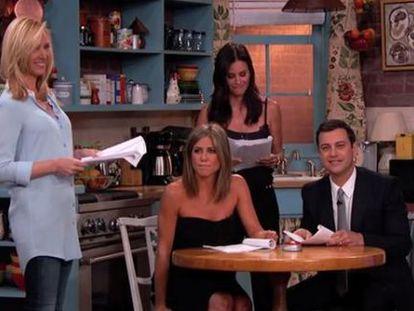 O reencontro de Rachel, Monica e Phoebe, de 'Friends'