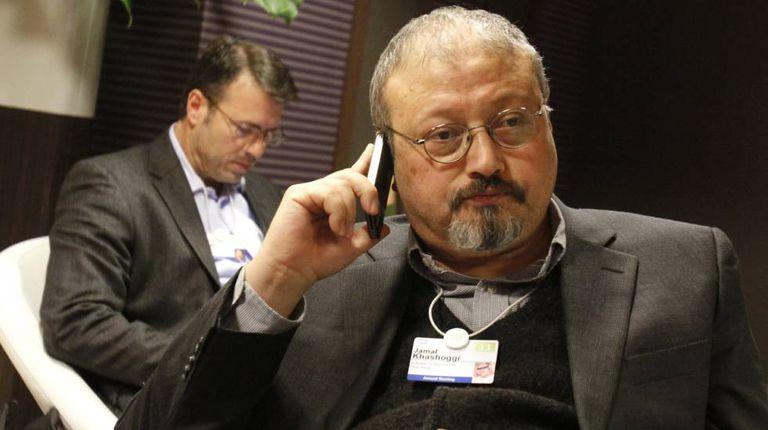 Jamal Khashoggi, em Davos (Suíça) em 2011.