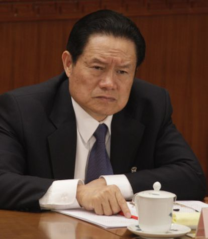 Zhou Yongkang, responsável pela segurança interior do país durante o mandato do ex-presidente, Hu Jintao.