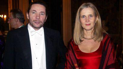 A acadêmica Katarina Frostenson e o marido, o fotógrafo e dramaturgo francês Jean-Claude Arnault, acusado de abusos por 18 mulheres