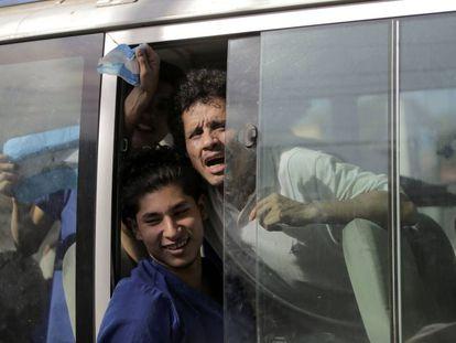 Libertação de presos políticos na penitenciária La Modelo, em Manágua