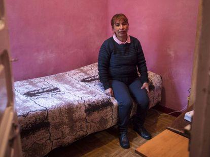 Elisabeth López imigrou para a Espanha vinda da Bolívia, em busca de um trabalho que lhe permita sustentar seus cinco filhos.