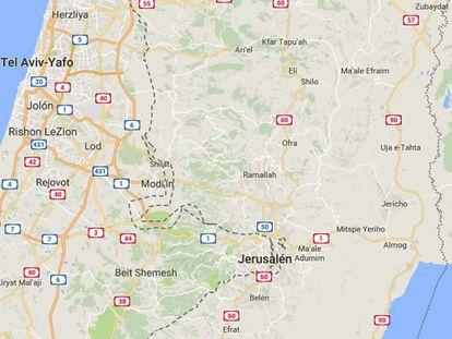Google eliminou denominação geográfica Palestina, denuncia sindicato