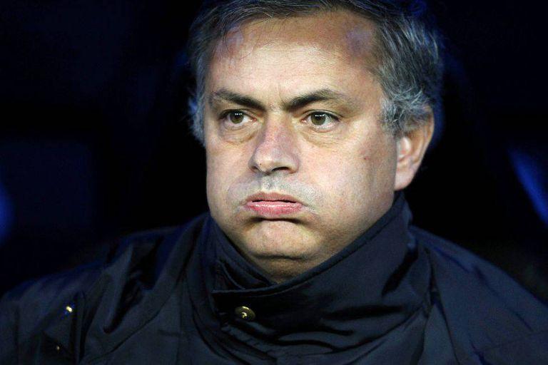 José Mourinho, técnico do Manchester United.