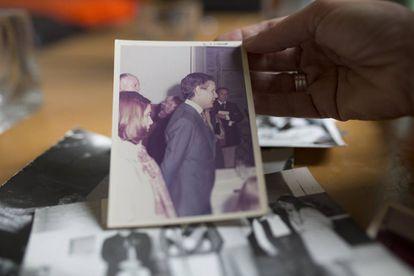 Miguel Etchecolatz em uma foto de família