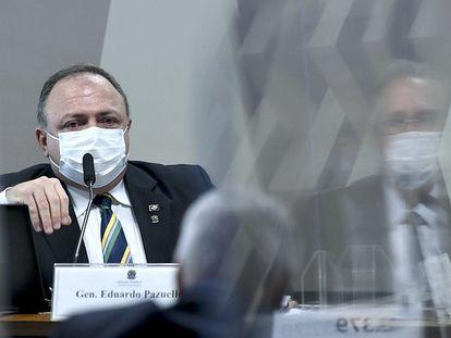 General Eduardo Pazuello, em depoimento à CPI da Pandemia no Senado.