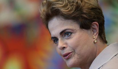 A presidenta afastada Dilma Rousseff.