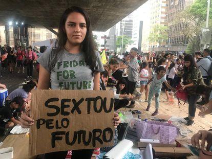 Em São Paulo.